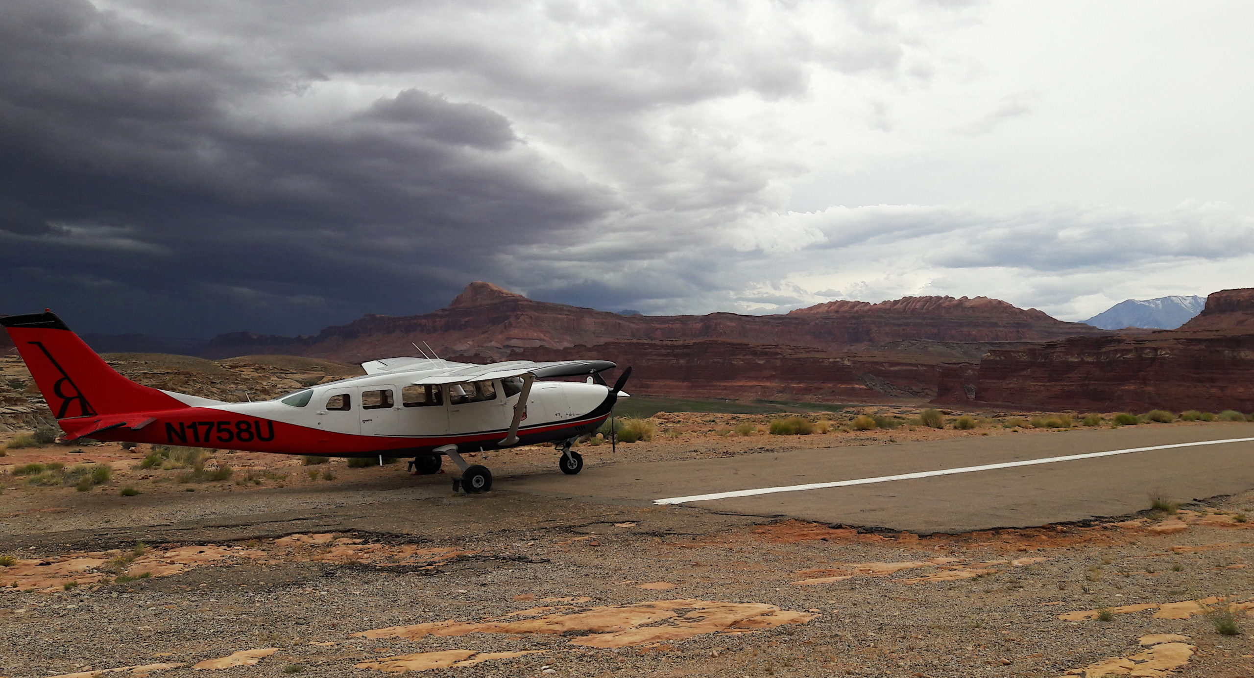 Redtail Plane in Moab
